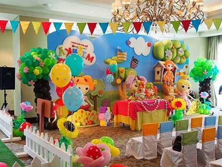 Decoração de Aniversário Lalaloopsy
