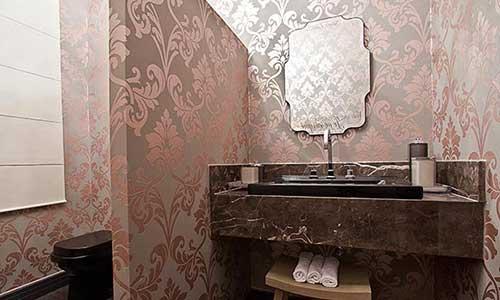 imagens de papel de parede no teto