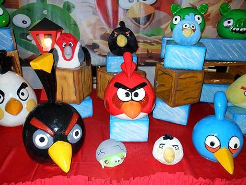 Como Fazer Decoracao De Festa Infantil Angry Birds