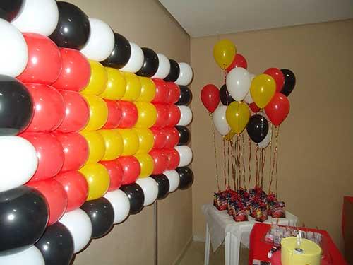 decoração de festa carros