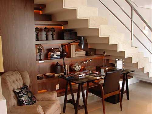 imagens de decoração embaixo da escada