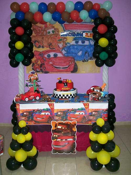Como Fazer Decoraç u00e3o de Festa Infantil de Aniversário Carros