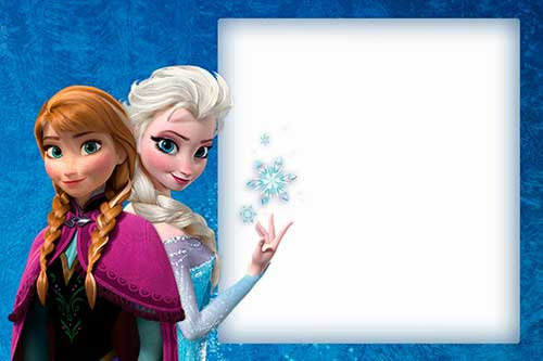 Frozen Online Invitations with awesome invitations template
