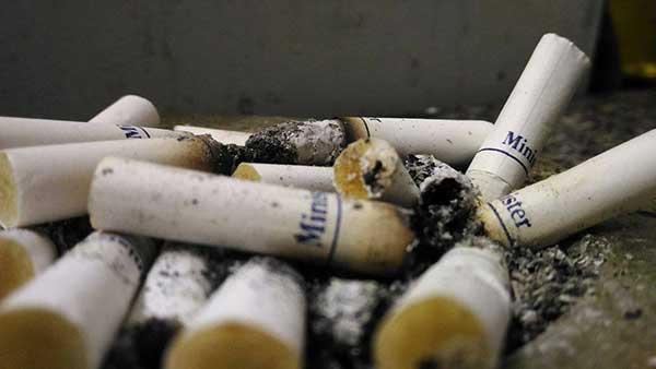 evite fumar dentro de casa