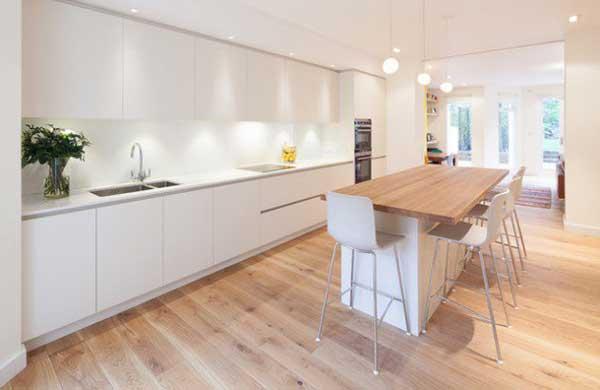 decoração de cozinha nórdica
