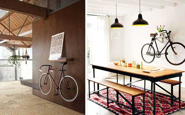 decorar com bikes